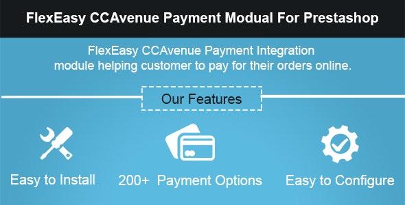 FlexEasy CCAvenue Payment Module for Prestashop - CodeCanyon Item for Sale