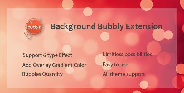 Visual Composer - Background Bubbly Effect