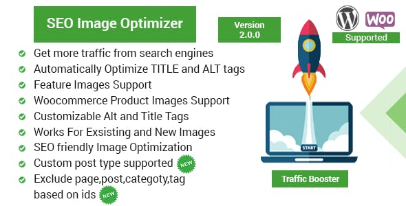 Seo Image Optimizer for WordPress & WooCommerce - Traffic Booster