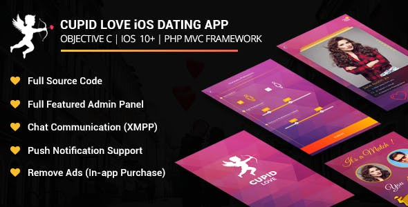 Cupid love iOS Native Application