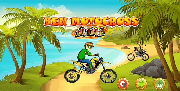 Motocross Action- Admob Banner & Interstitial (Android Studio)