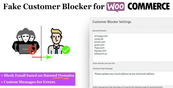 Fake Customer Blocker for WooCommerce