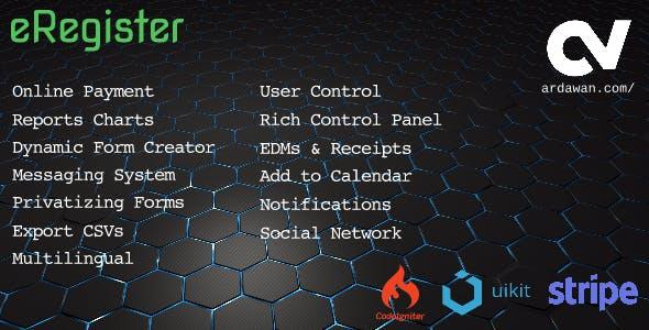 eRegister v1.2.1 - Online Registration
