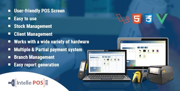 Intelle POS With Inventory System by intelle-hub | CodeCanyon