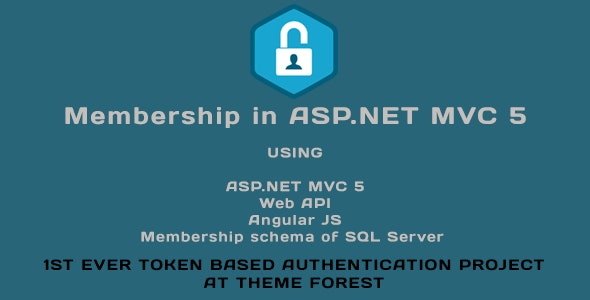 Membership in ASP.NET MVC 5 (Web API, Angular JS, Membership schema of SQL Server) - CodeCanyon Item for Sale