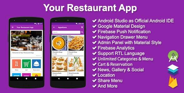 Your Restaurant App