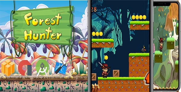 Forest Hunter - Game Adventure - NEW GAME - CodeCanyon Item for Sale