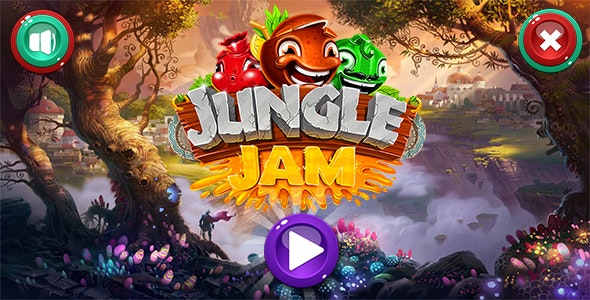 JUMGLE JAM - GAME HTML5 - CodeCanyon Item for Sale