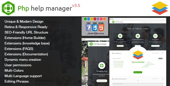 Php Help Manager - CodeCanyon Item for Sale