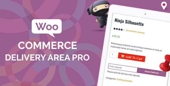 WooCommerce Delivery Area Pro - CodeCanyon Item for Sale