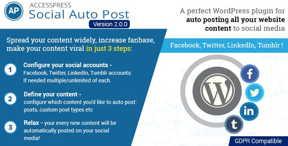 AccessPress Social Auto Post        Nulled