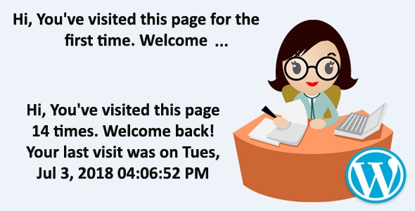 """Your last visit was on ..."" - by Receptionist PlugIn - CodeCanyon Item for Sale"
