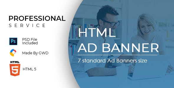 Professional Service Ad Banners