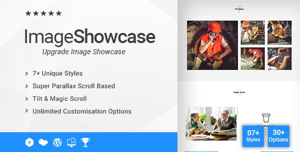 Creative Image Showcase Addon for WPBakery Page Builder (formerly Visual Composer)