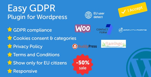 Easy GDPR - CodeCanyon Item for Sale