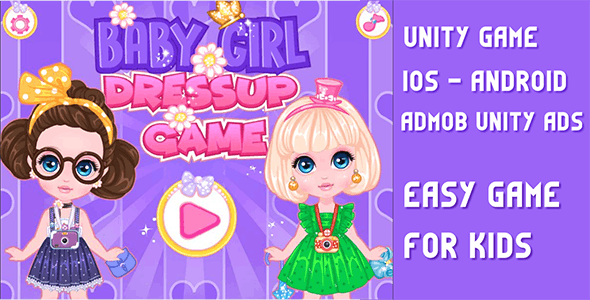 Baby Princess Fashion - UNITY GAME