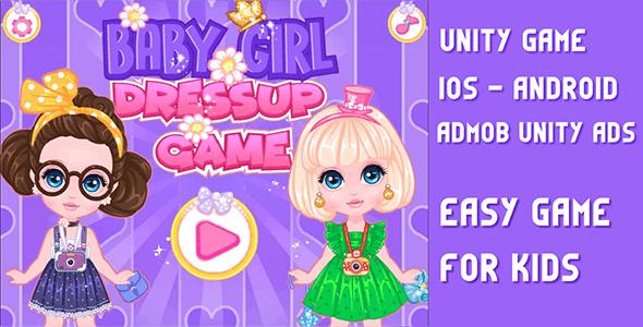 Baby Princess Fashion - UNITY GAME - CodeCanyon Item for Sale