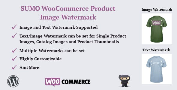 SUMO WooCommerce Product Image Watermark