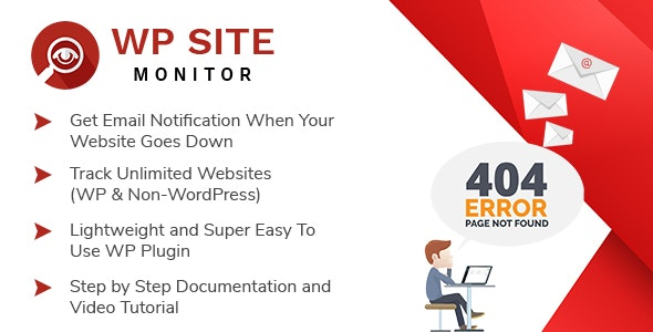 WP Site Monitor - WordPress Plugin For Monitoring Your Websites Availability - CodeCanyon Item for Sale