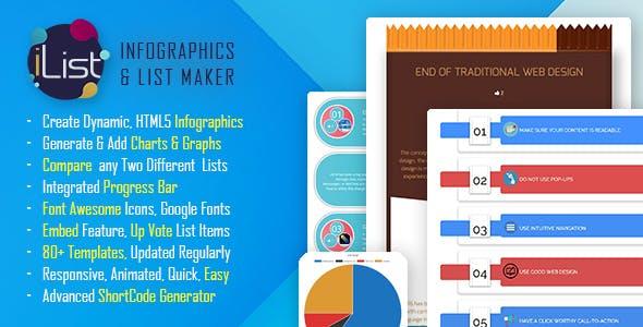 Infographic Maker - iList Pro - CodeCanyon Item for Sale