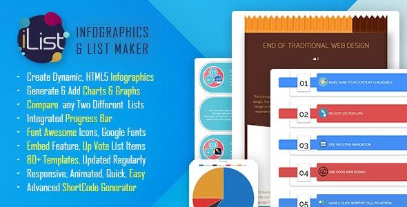 Infographic Maker - iList Pro by quantumcloud | CodeCanyon