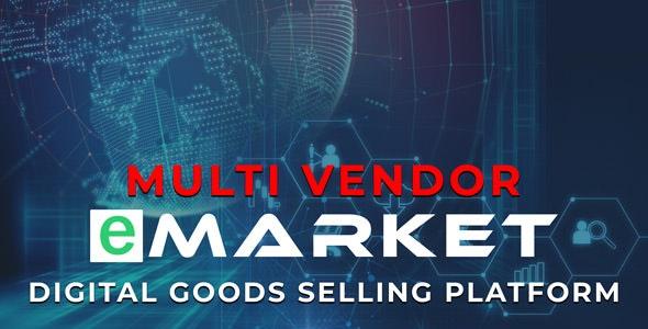 eMarket - Digital Goods Selling Platform by rifat636 | CodeCanyon