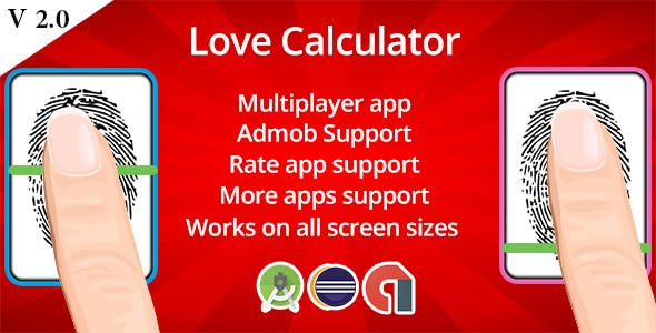 Love Calculator V 2.0 : Admob Ready