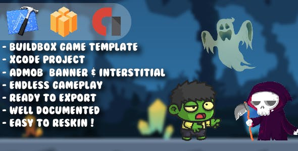 Mini Zombie Boy - Xcode Project & Buildbox Game Template