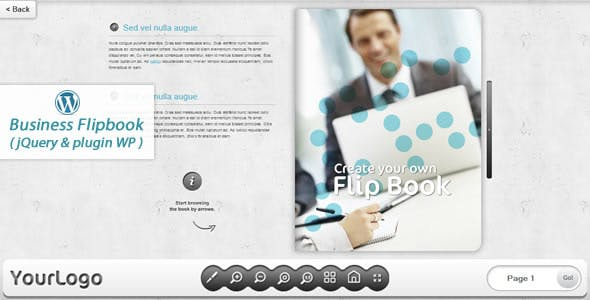 Business FlipBook WordPress plugin