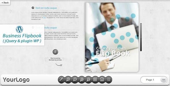 Business FlipBook WordPress plugin