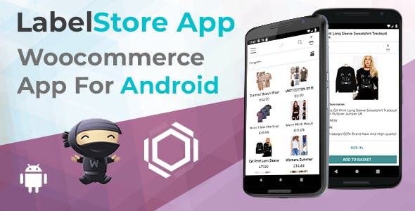 Label - Creative Android App For Woocommerce Stores - Java