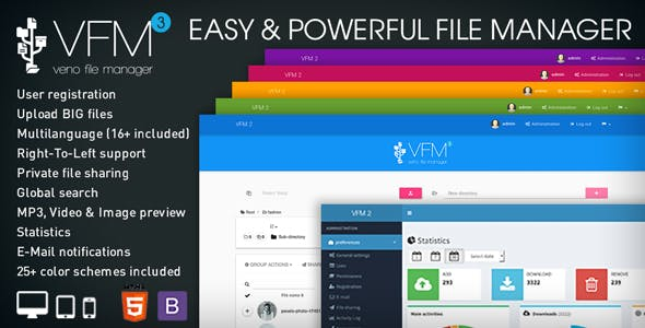 PHP Upload & Download Files from CodeCanyon