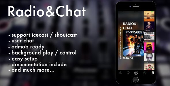 Radio & Chat (multi) iOS
