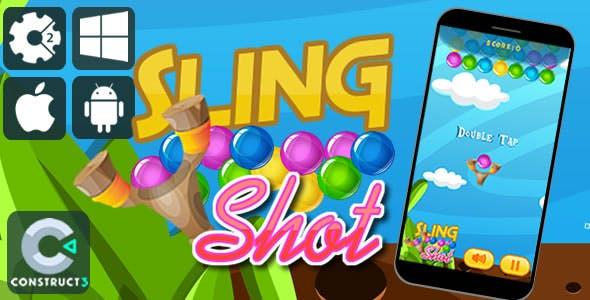 Sling Shot Html5 Game