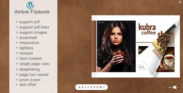 Flipbook WordPress Plugin Ambre - CodeCanyon Item for Sale