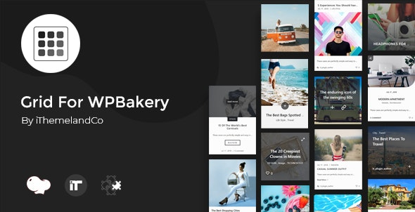 Grid For WPBakery Page Builder (Visual Composer) - CodeCanyon Item for Sale