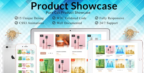 Product Grid  and Shop Grid  Pure CSS Showcase