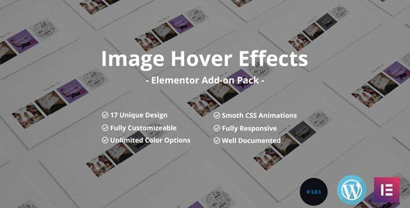 Image /Thumb Hover Effects Collection - Elementor Page Builder