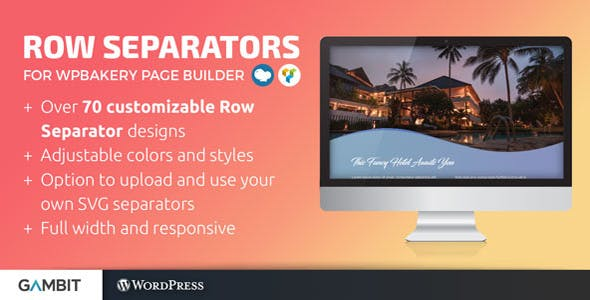 Row Separators for WPBakery Page Builder (formerly Visual Composer)