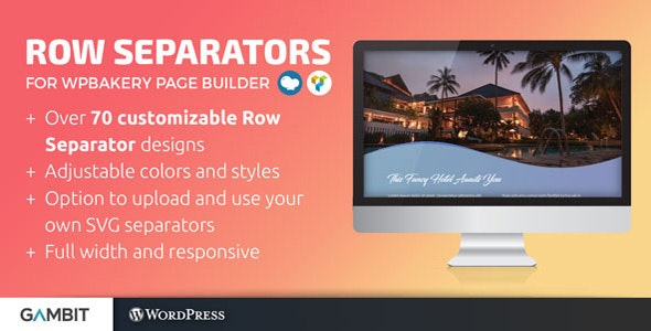 Row Separators for WPBakery Page Builder (formerly Visual Composer) - CodeCanyon Item for Sale