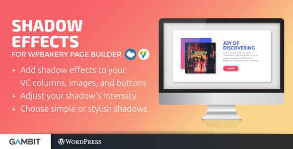 Shadow Effects for WPBakery Page Builder (formerly Visual Composer)