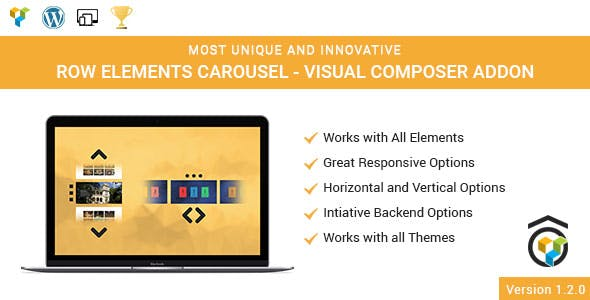 Any Element Row Carousel Addon for WPBakery Page Builder (formerly Visual Composer)