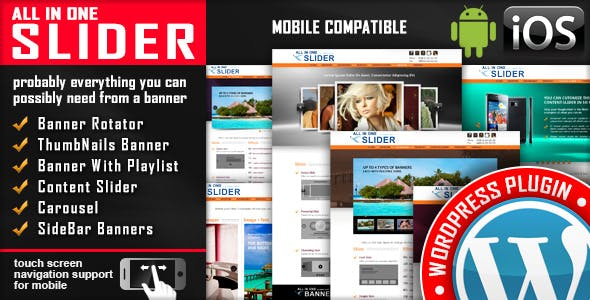 All In One Slider Responsive WordPress Slider Plugin        Nulled