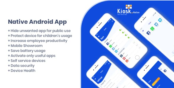 Kiosk Notion Android Native App