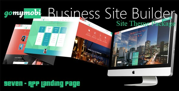 gomymobiBSB's Site Theme: Seven - App Landing Page