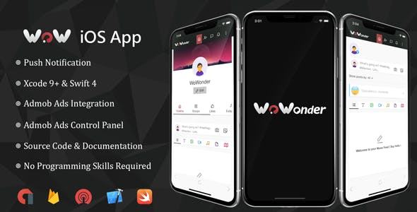 Wowonder iOS Application