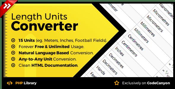 Length Units Converter - Natural Language Conversion Library