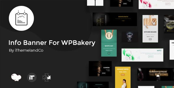 Info Banner For WPBakery Page Builder (Visual Composer)