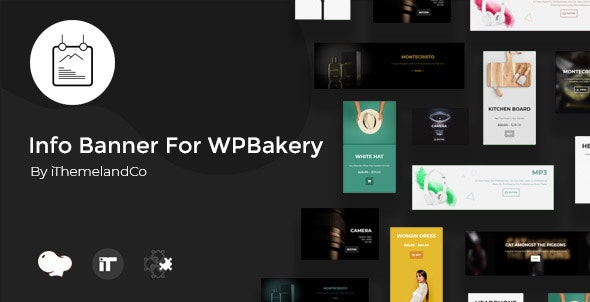 Info Banner For WPBakery Page Builder (Visual Composer) - CodeCanyon Item for Sale