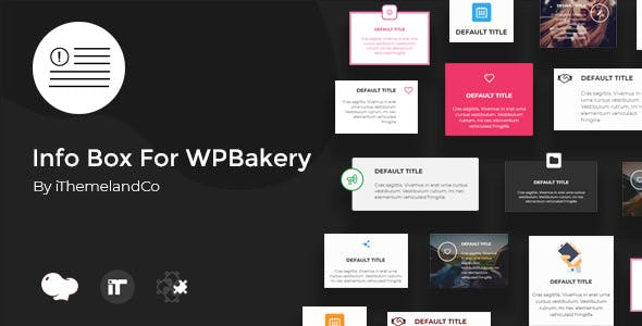 Info Box For WPBakery Page Builder (Visual Composer)